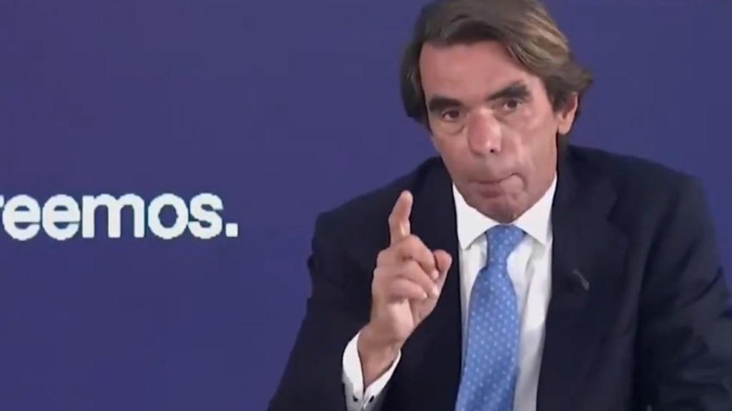 #Video Critica Aznar petición de perdón de López Obrador - José María Aznar