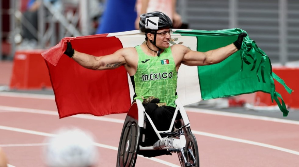 Juan Pablo Cervantes logra el octavo bronce para México en Paralímpicos - Juan Pablo Cervantes Tokio 2020