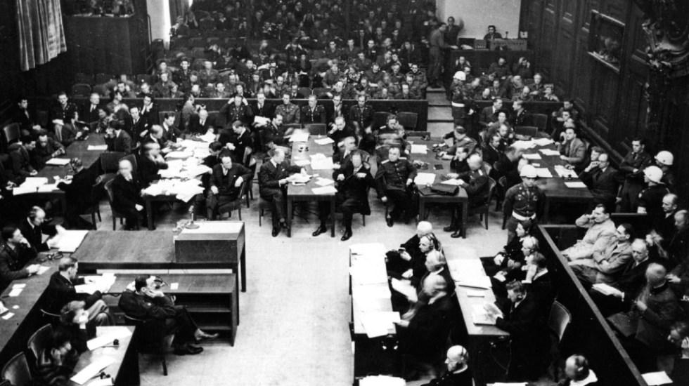 Se cumplen 75 años de las condenas a jerarcas nazis en Núremberg - Juicios Núremberg nazis