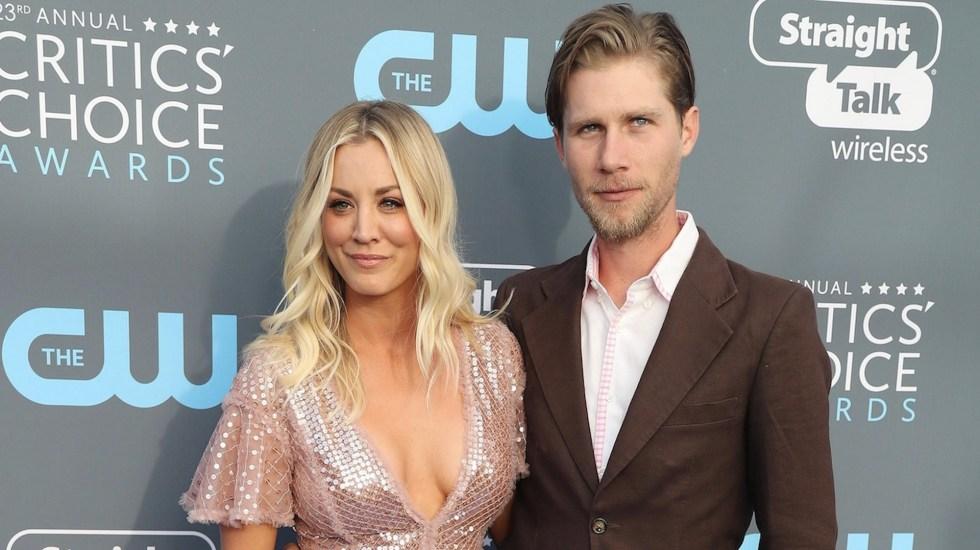 Kaley Cuoco, de 'The Big Bang Theory', confirma su divorcio - Kaley Cuoco, protagonista de 'The Big Bang Theory', anuncia divorcio. Foto de EFE