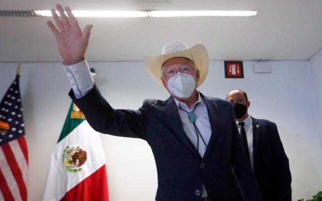 Ken Salazar, nuevo embajador de EE.UU., llegó a México; migración y pandemia, sus prioridades - Ken Salazar embajador