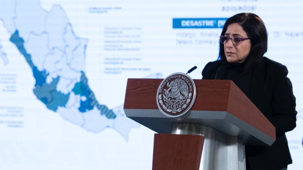 No necesitamos del Fonden, asegura Protección Civil - Laura Velázquez Protección Civil Fonden