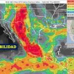 Alerta por tormentas en gran parte del país