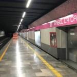 Cerrarán Línea 1 del Metro parcialmente en primer semestre del 2022 - Línea 1 metro CDMX Isabel La Católica