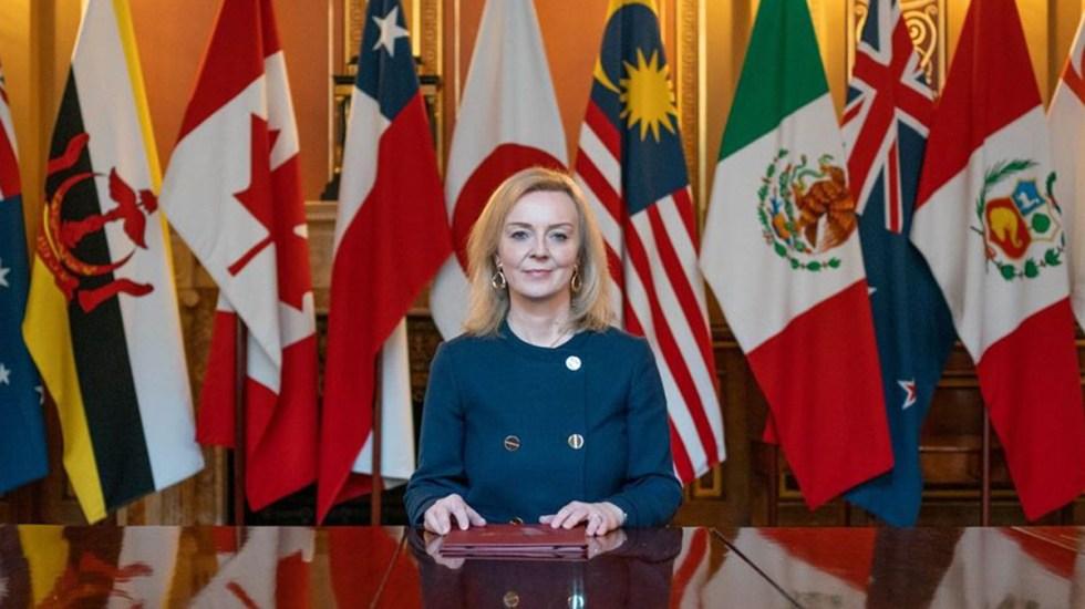 Canciller británica llega a México para impulsar las relaciones económicas y diplomáticas - Liz Truss, canciller de Reino Unido