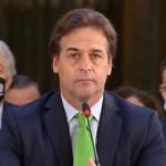 Cuestiona Luis Lacalle a Venezuela, Nicaragua y Cuba en reunión de la CELAC