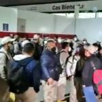 Empleados de Gas Bienestar protestan en Iztacalco por sueldos