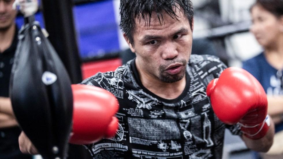 Pacquiao se retira del boxeo tras postularse como candidato presidencial - Manny Pacquiao