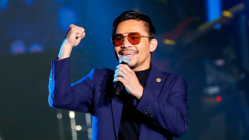 Manny Pacquiao se lanza como candidato a presidente de Filipinas - Manny Pacquiao