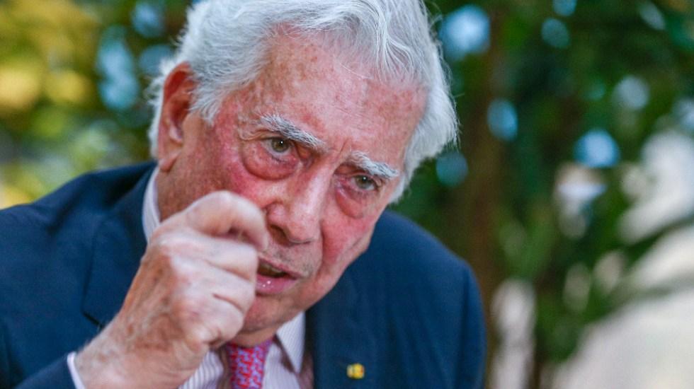 Vargas Llosa moderó discurso en última visita a México: López Obrador - Mario Vargas Llosa