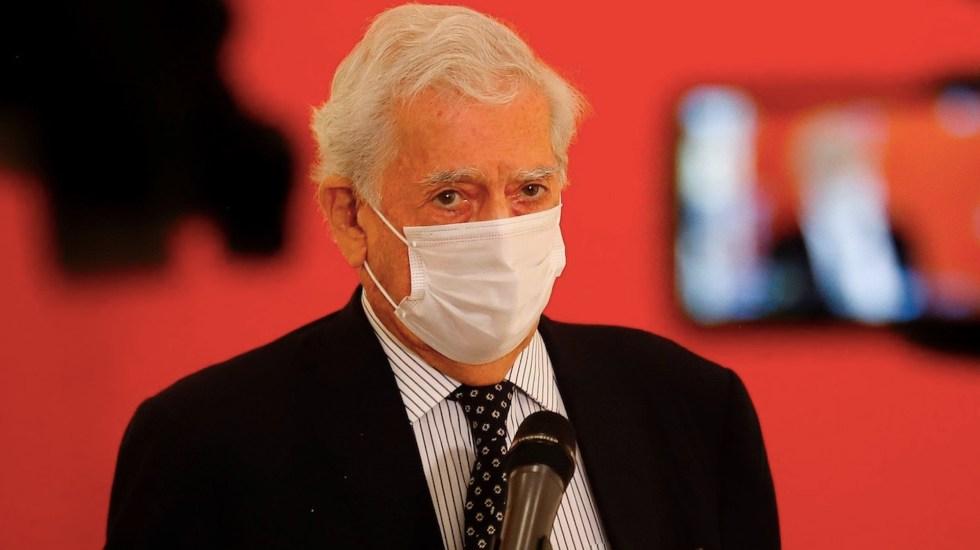 Vargas Llosa critica ataques de López Obrador a la prensa - Vargas Llosa critica ataques de López Obrador a la prensa. Foto de EFE