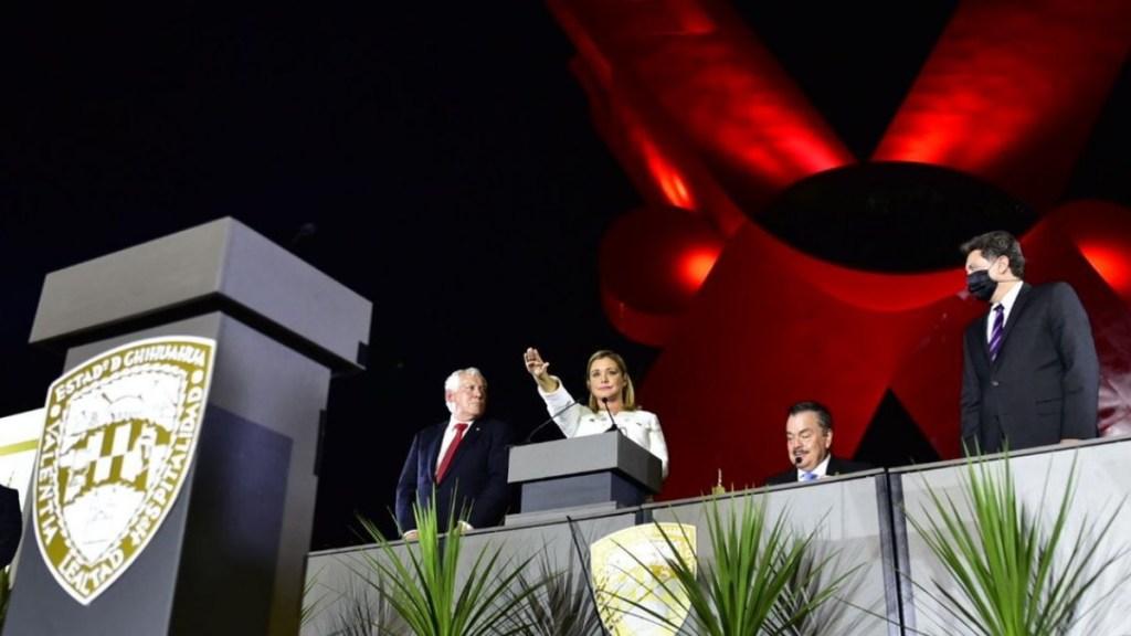 Maru Campos toma posesión como gobernadora de Chihuahua - Maru Campos Chihuahua