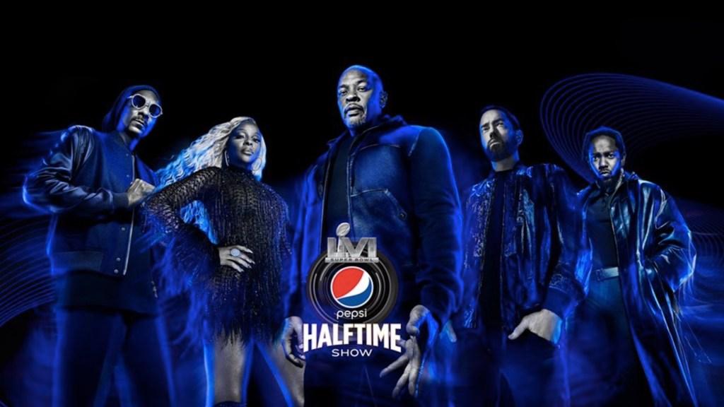 Dr. Dre, Eminem, Snoop Dogg, Mary J. Blige y Kendrick Lamar actuarán en el Halftime Show del Super Bowl. Foto de Twitter Snoop Dogg