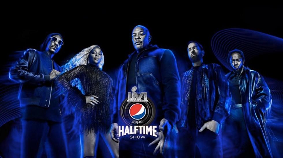 Dr. Dre, Eminem, Snoop Dogg, Mary J. Blige y Kendrick Lamar actuarán en el Halftime Show del Super Bowl - Dr. Dre, Eminem, Snoop Dogg, Mary J. Blige y Kendrick Lamar actuarán en el Halftime Show del Super Bowl. Foto de Twitter Snoop Dogg