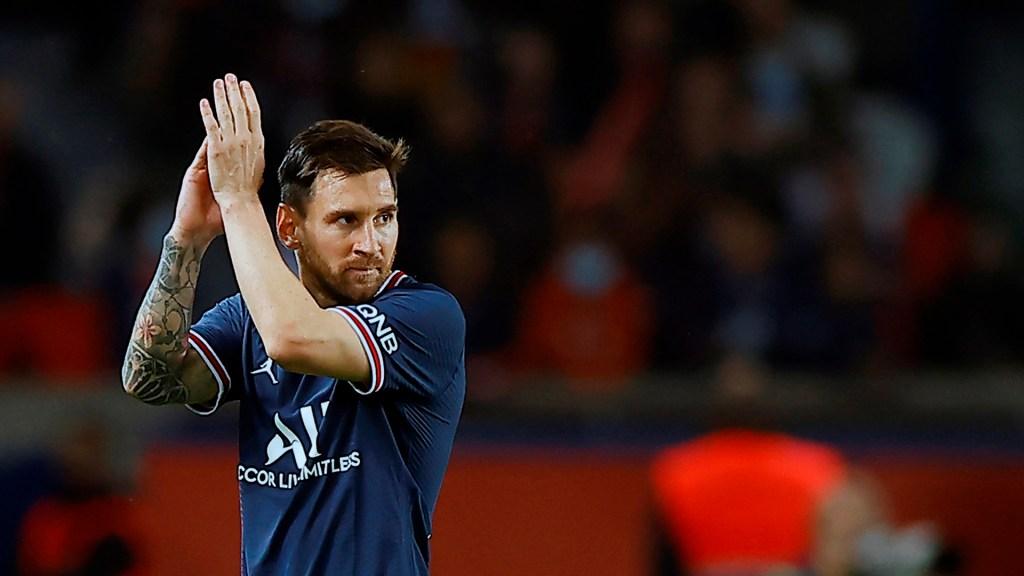Messi se perderá partido contra Metz por posible lesión - Messi en partido del PSG vs Olympique Lyon