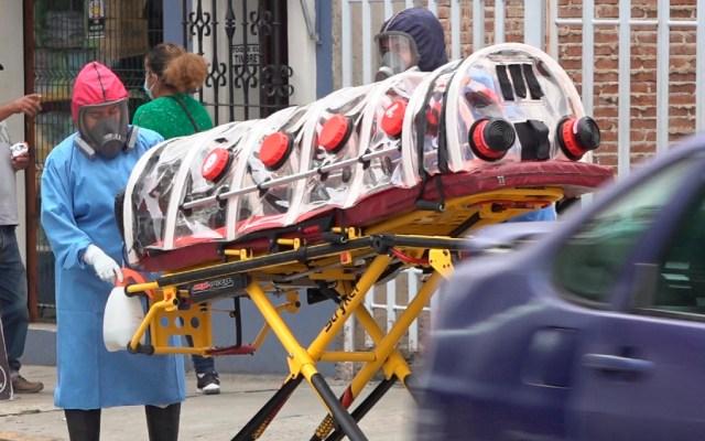 México, hoy tercer lugar mundial en muertes por COVID-19, con 596 - México coronavirus Oaxaca covid