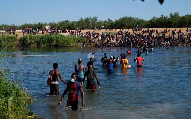 México, dispuesto a acoger migrantes haitianos - Migrantes haitianos en intento por cruzar a Estados Unidos