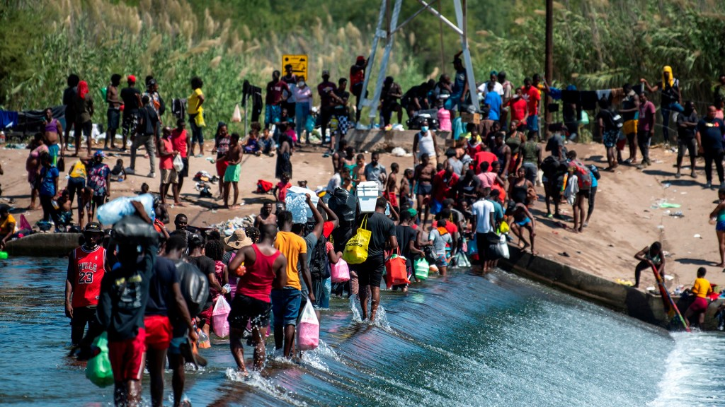 Haití expresa preocupación por sus ciudadanos en frontera de México con EE.UU. - migrantes migración haitianos carta