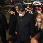 Llega a México el presidente de Venezuela, Nicolás Maduro