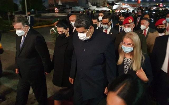 Llega a México el presidente de Venezuela, Nicolás Maduro - Nicolás Maduro México Venezuela