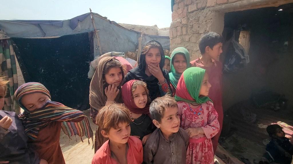 México urge ante ONU ayuda humanitaria contra desnutrición infantil en Afganistán - Niños de Afganistán refugiados en Paquistán