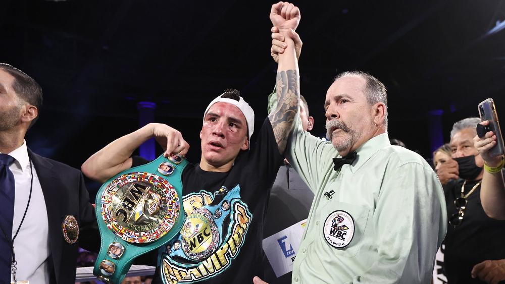 Óscar Valdez juez boxeo