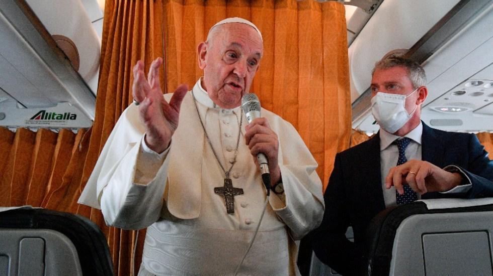 De niños nos ponían las vacunas y nadie decía ni mu: papa Francisco - Papa Francisco