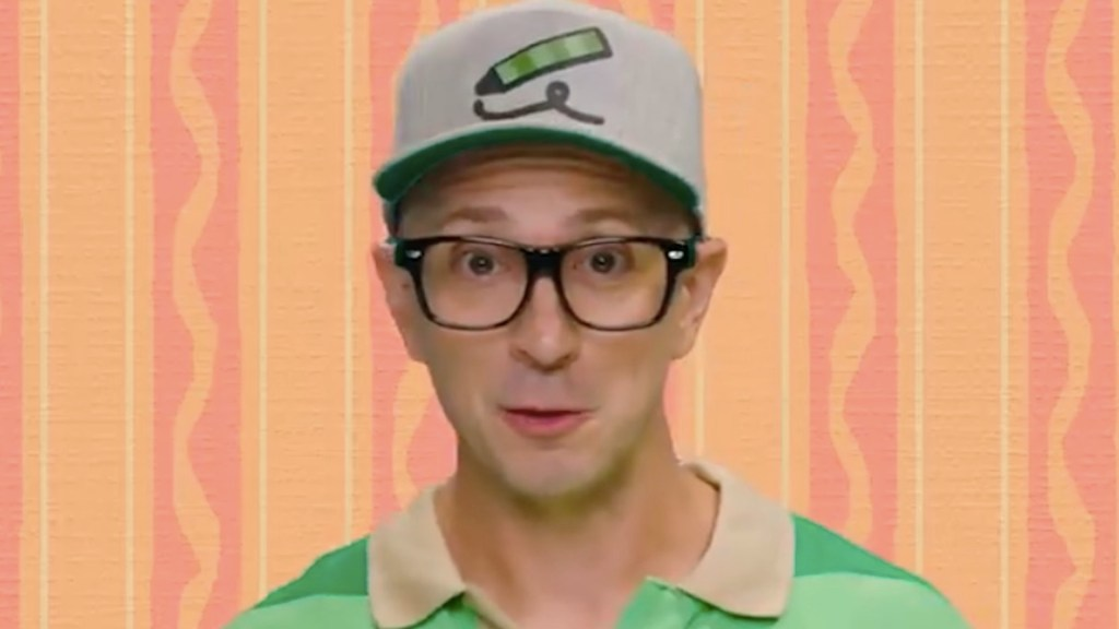 #Video Steve, protagonista de 'Pistas de Blue', reaparece - #Video Steve, protagonista de 'Pistas de Blue', reaparece. Foto de EFE