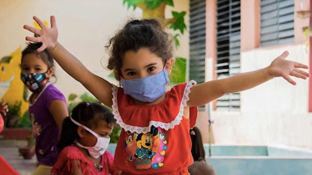 Cuba autoriza uso de su vacuna Soberana 02 en la población pediátrica. Foto de Cemed