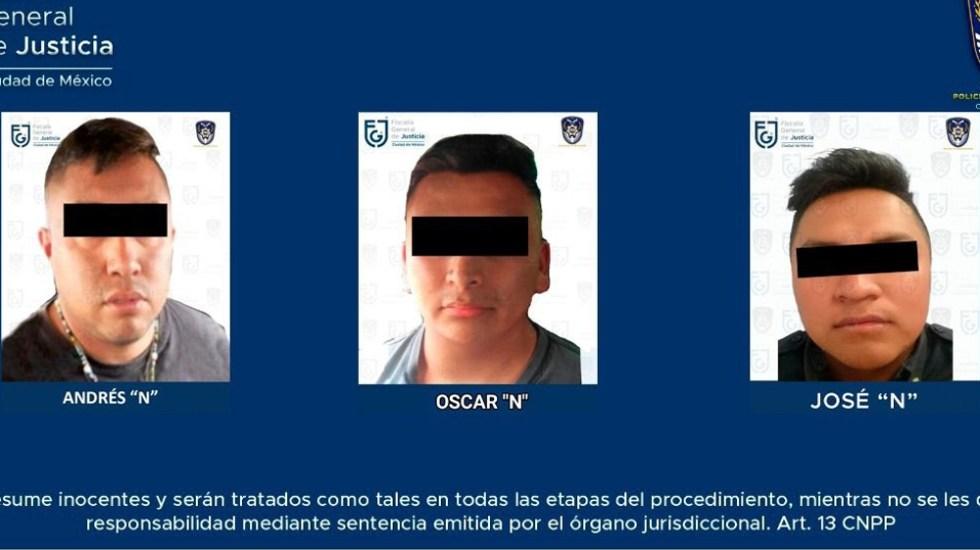 Detienen a tres policías por desaparición forzada de personas en CDMX - policias detenidos desaparición forzada CDMX