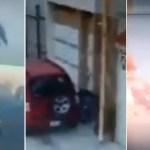 Detona caja con explosivo frente a vivienda en Puebla