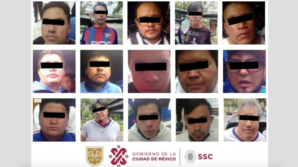 Riña entre seguidores del Atlante y Celaya deja 19 personas detenidas - riña Ciudad de los Deportes Atlante Celaya