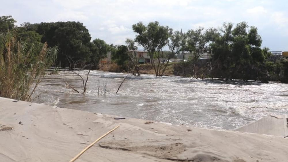 Conagua emite avisos a Ixmiquilpan, Hidalgo, por crecimiento del río Tula - río Tula Ixmiquilpan Hidalgo