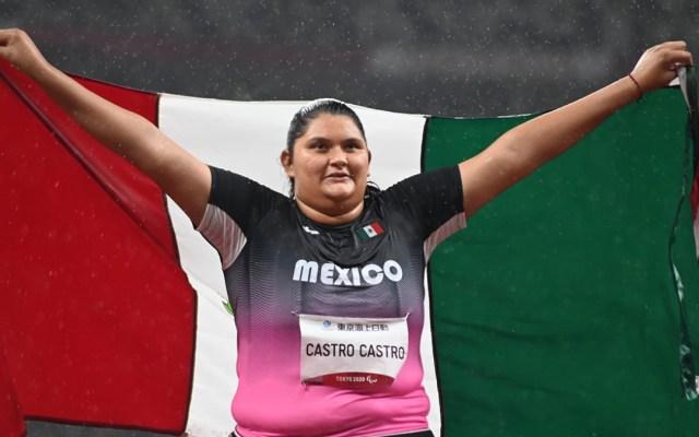 México concluye Paralímpicos de Tokio con su mejor resultado desde Beijing - Rosa Carolina, quien obtuvo medalla de bronce en Paralímpicos de Tokio