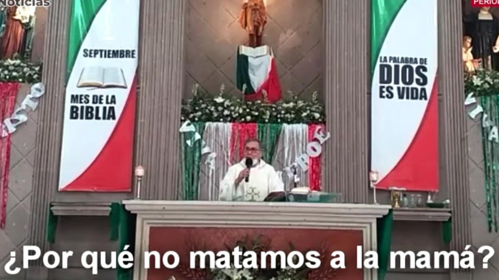 #Video Sacerdote cuestiona ¿por qué no matamos a la mamá? ; 'una mujer que aborta ya no sirve para nada' - Sacerdote de Coahuila llama a matar a mujeres que aborten
