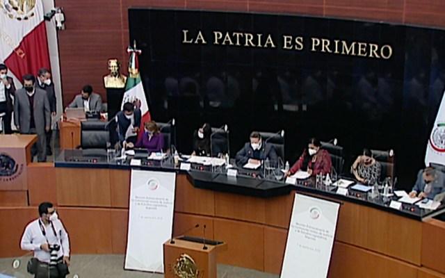 Avalan en Comisiones del Senado Ley de Juicio Político - Senado comisiones unidas ley juicio político
