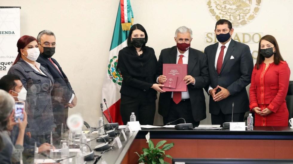 Entrega subsecretaria de Egresos el Paquete Económico 2022 al Senado - Paquete Económico Senado de la República entrega Presupuesto