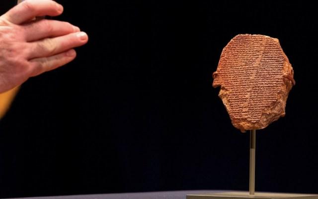 Devuelven a Irak una tablilla de Gilgamesh decomisada en Estados Unidos - Foto de EFE