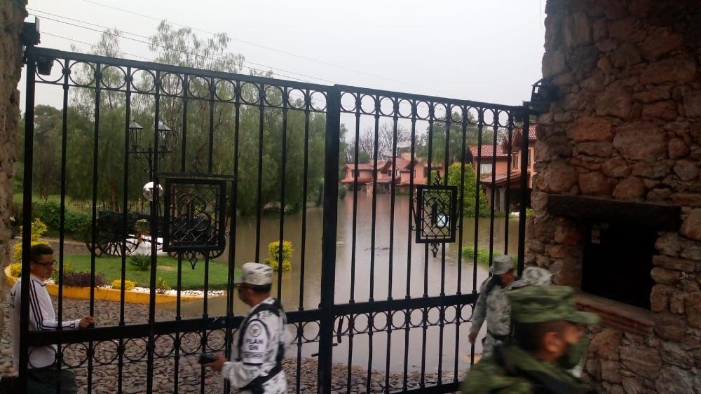 Activan Plan DN-III-E en Querétaro tras lluvias e inundaciones - Tequisquiapan Queretaro inundaciones