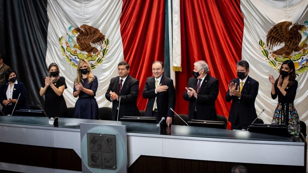 #Video Alfonso Durazo asume gubernatura de Sonora - Toma de protesta de Alfonso Durazo como nuevo gobernador de Sonora