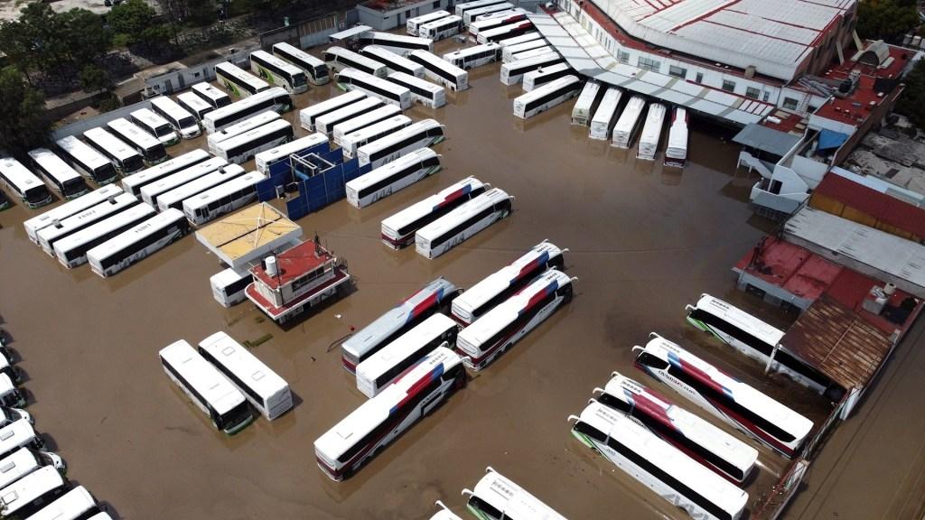Sí se alertó sobre inundación en Tula: Laura Velázquez - Tula Hidalgo inundaciones lluvias tormentas