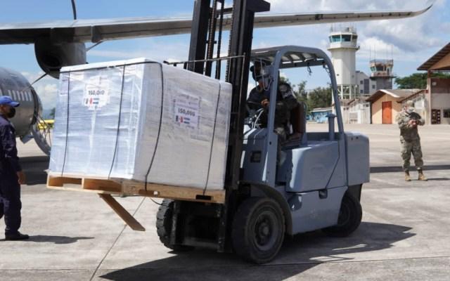Honduras recibe segunda donación de 150 mil vacunas anticovid enviadas por México - vacunas anticovid México Honduras