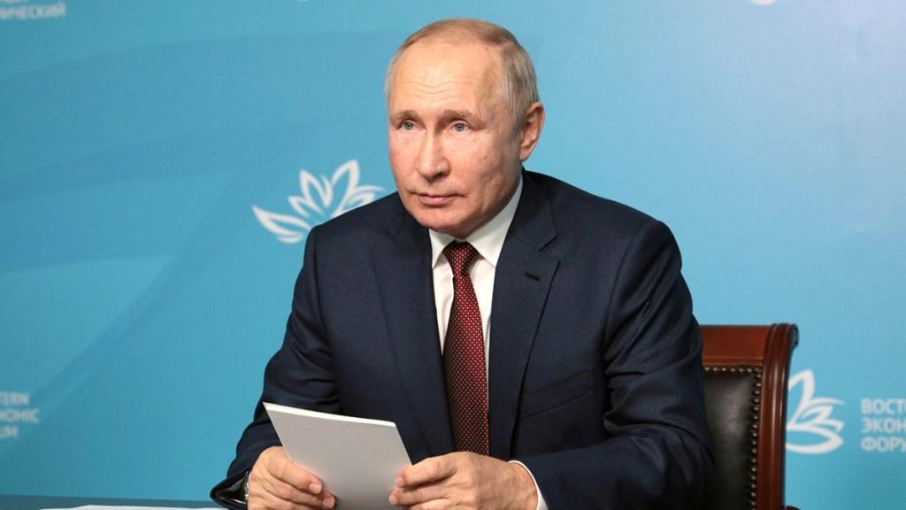 Putin se pondrá en aislamiento por COVID-19 en su círculo cercano