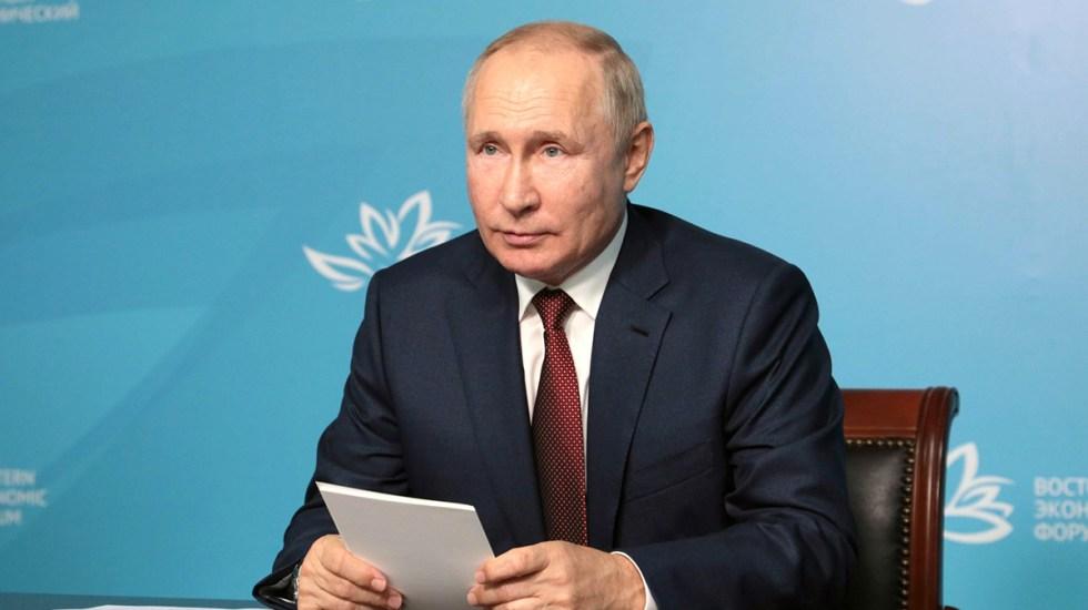 Putin se pondrá en aislamiento por COVID-19 en su círculo cercano - Vladimir Putin, presidente de Rusia