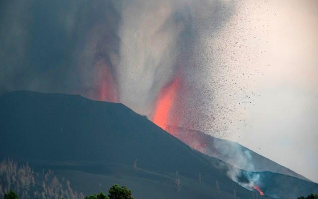 El volcán de La Palma se estabiliza tras una semana en erupción - Volcán Cumbre Vieja en La Palma
