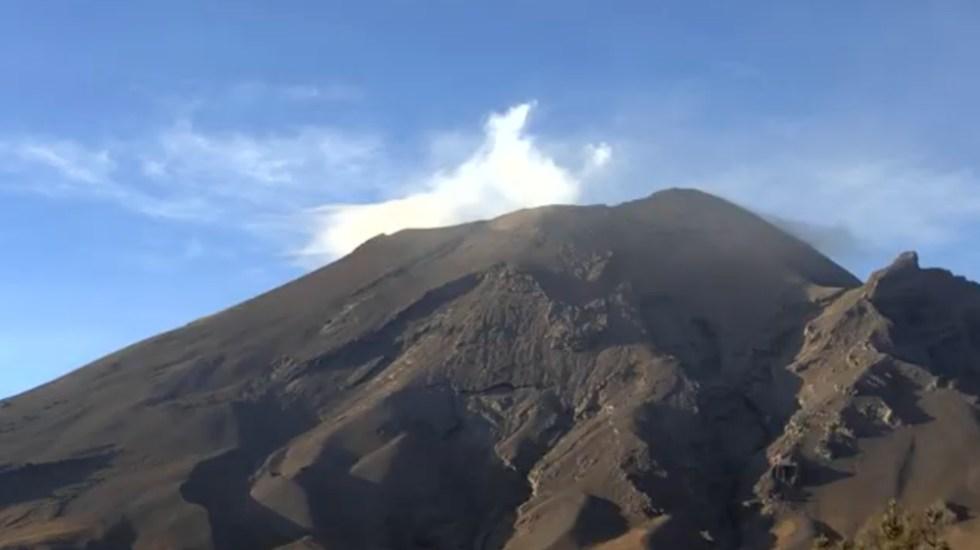 Prevén caída de ceniza volcánica en CDMX para este jueves - volcán Popocatépetl ceniza