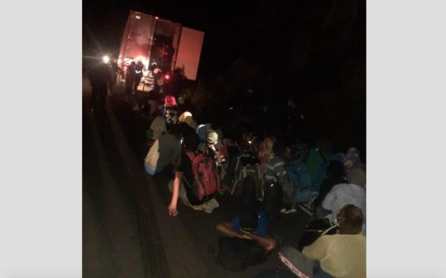 Rescatan en Guatemala a 126 migrantes abandonados - 126 migrantes Guatemala