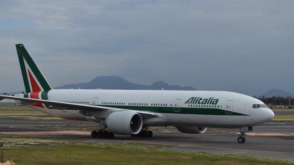 Alitalia, símbolo en todo el mundo, dejará de volar - Alitalia, símbolo en todo el mundo, dejará de volar. Foto de Tania Villanueva para López-Dóriga Digital