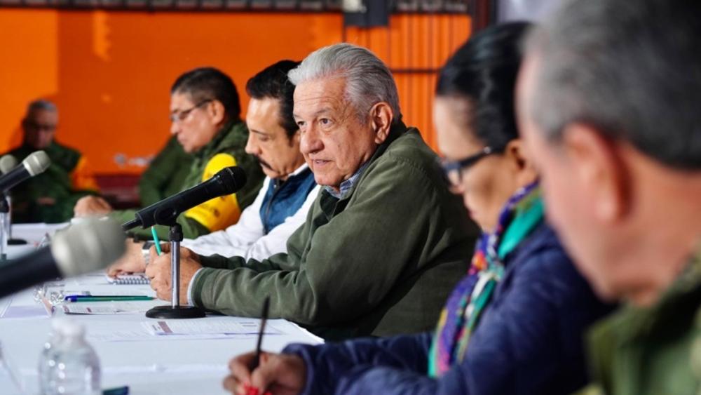 Ordena AMLO perfeccionar censo de afectados por inundaciones en Tula - AMLO López Obrador Hidalgo Tula