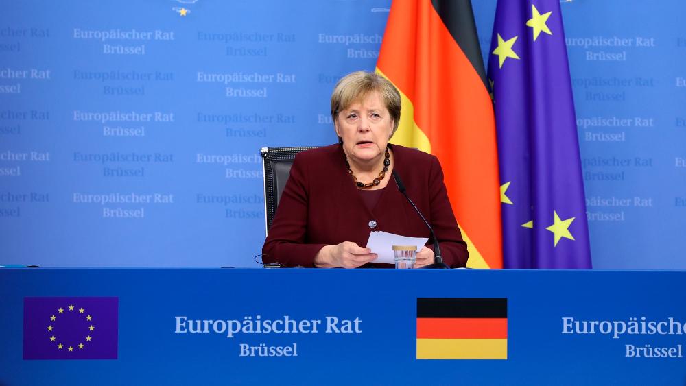 """Merkel reconoce que """"quizás"""" ha celebrado su última cumbre europea - Angela Merkel"""